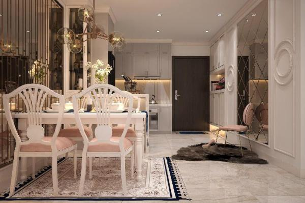 Luxury new apartment neoclassical style  Ho Chi Minh City