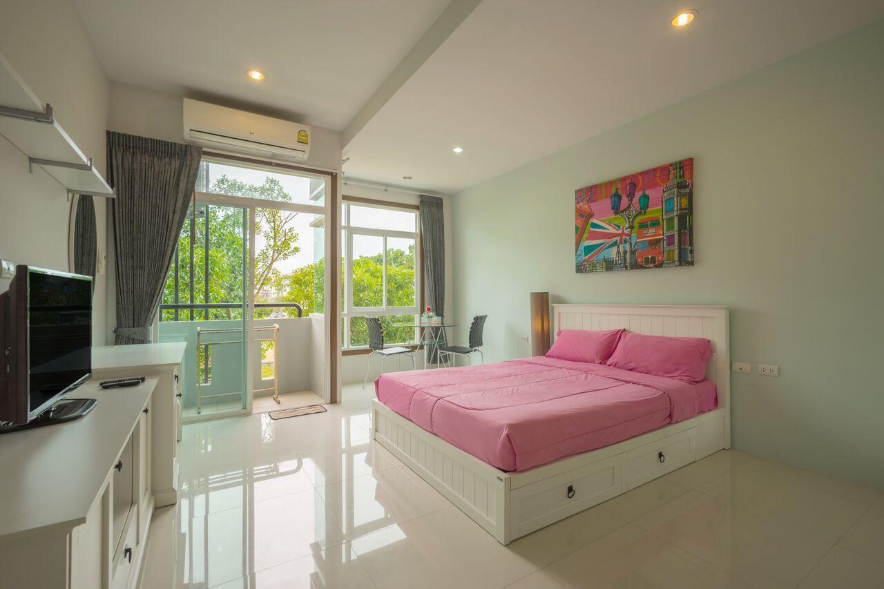 The Bell Condo Garden View Chalong อพาร์ตเมนต์ 1 ห้องนอน 1 ห้องน้ำส่วนตัว ขนาด 30 ตร.ม. – ฉลอง