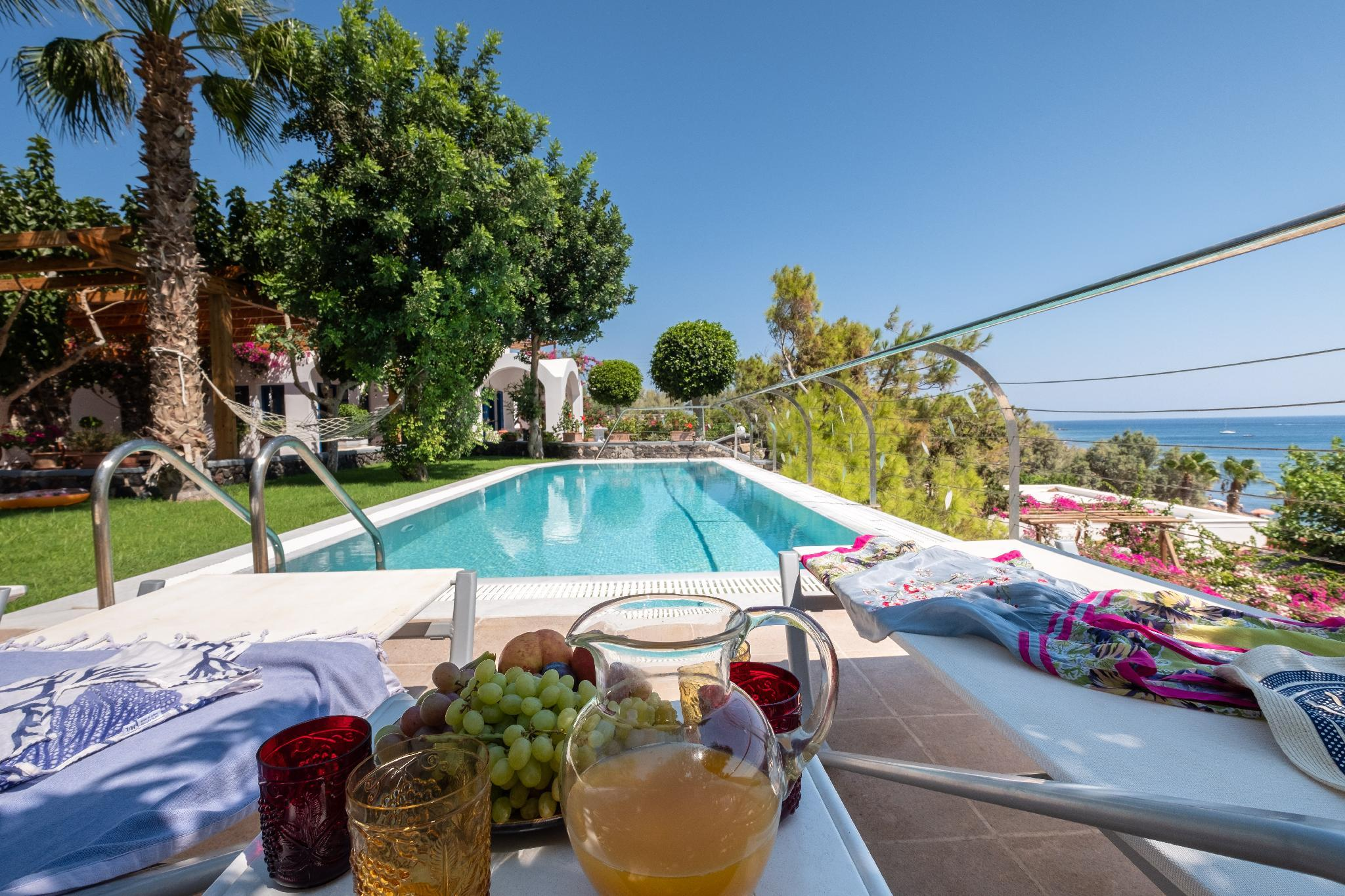 A Romantic Villa With Private Garden