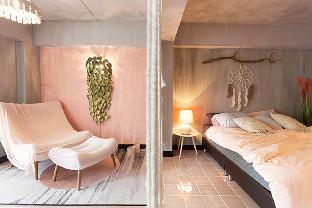 [ステープ]アパートメント(30m2)| 1ベッドルーム/1バスルーム Miss time pink house莫迪色系手工主房