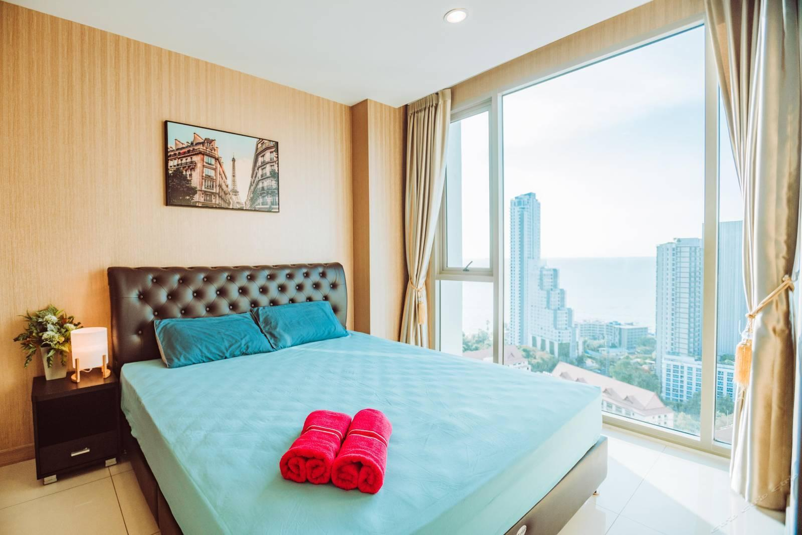 Rivera ocean view apartment hotel อพาร์ตเมนต์ 1 ห้องนอน 1 ห้องน้ำส่วนตัว ขนาด 41 ตร.ม. – หาดวงอมาตย์