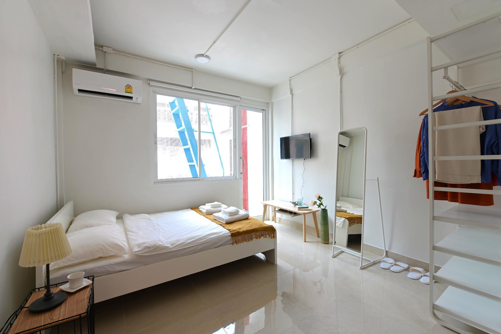 Cozy Room in Center Sukhumvit41 BTS Phrom Phong อพาร์ตเมนต์ 1 ห้องนอน 1 ห้องน้ำส่วนตัว ขนาด 19 ตร.ม. – สุขุมวิท