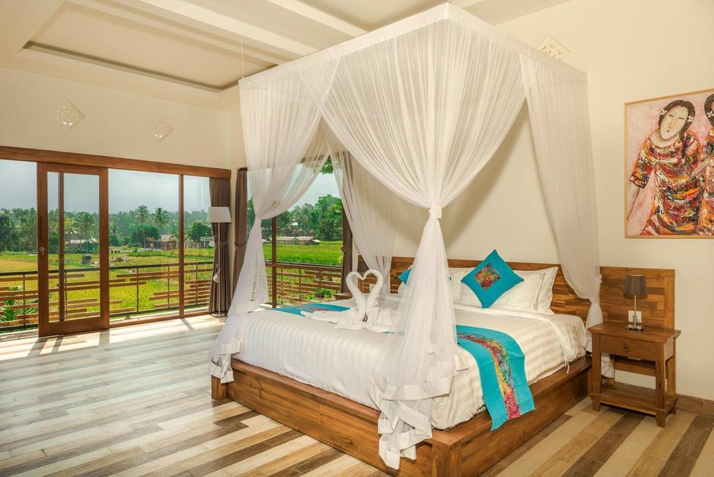 ***Suite Room Above The Beautiful Ubud Ricefield