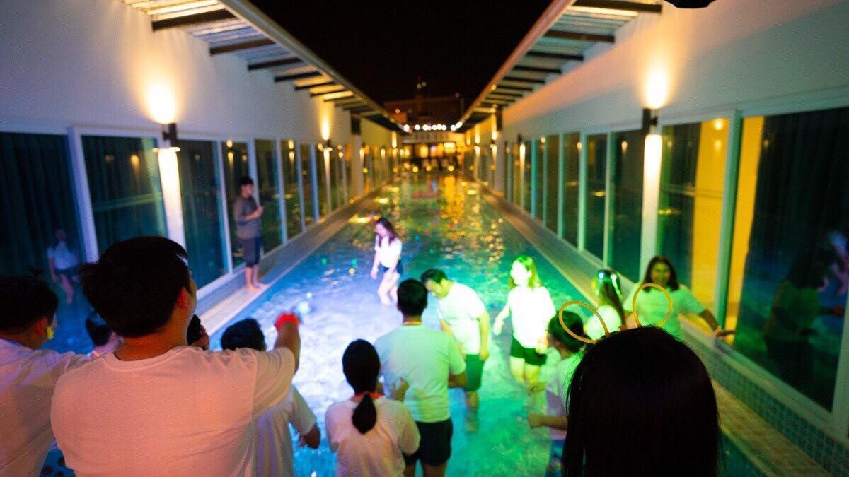 DJ Pool Villa   20 Bedrooms for 40 guests! วิลลา 20 ห้องนอน 21 ห้องน้ำส่วนตัว ขนาด 490 ตร.ม. – หาดจอมเทียน