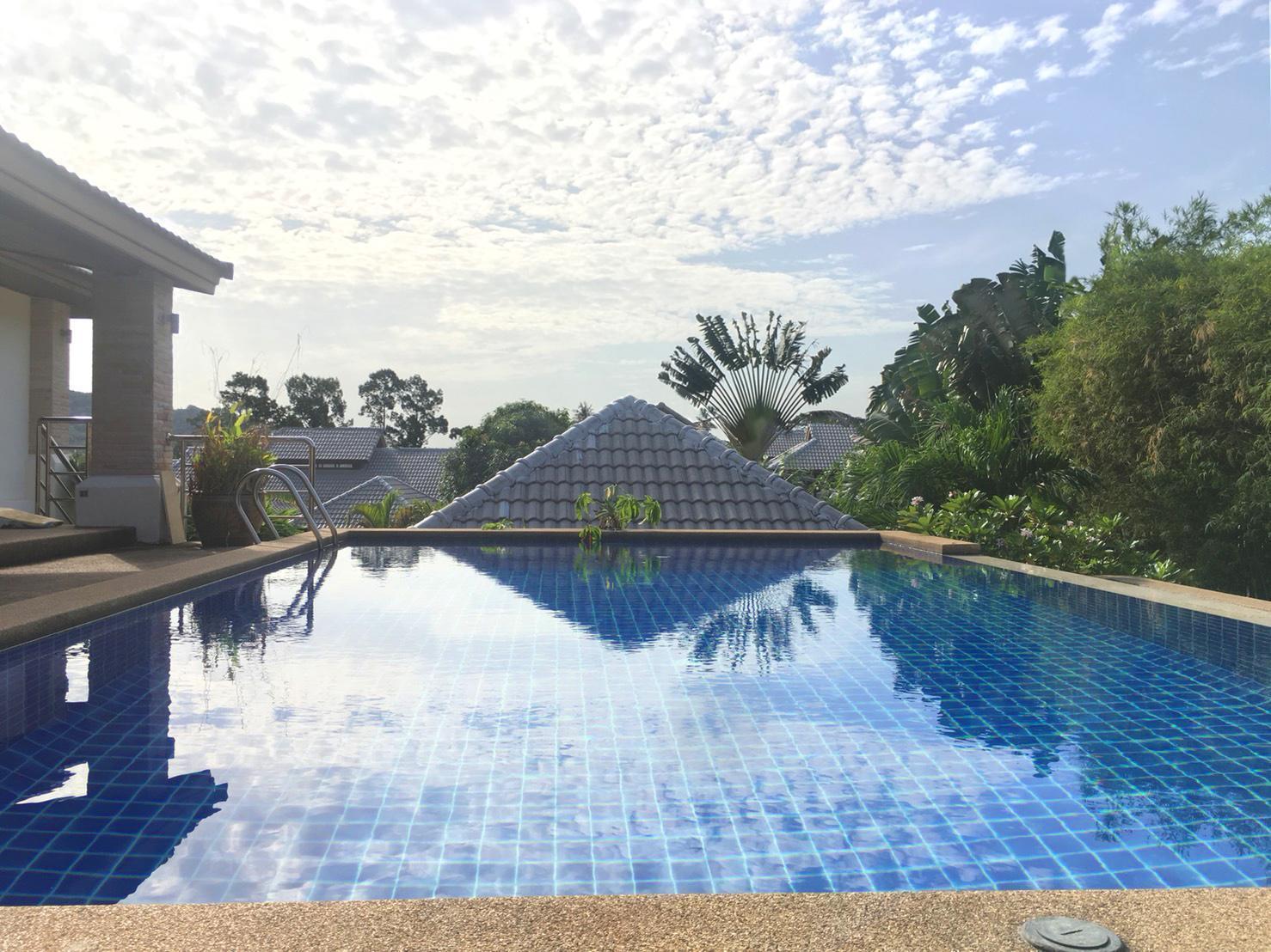 Luxury 4 bedroom family villa with private pool. วิลลา 4 ห้องนอน 4 ห้องน้ำส่วนตัว ขนาด 840 ตร.ม. – หาดบ่อผุด