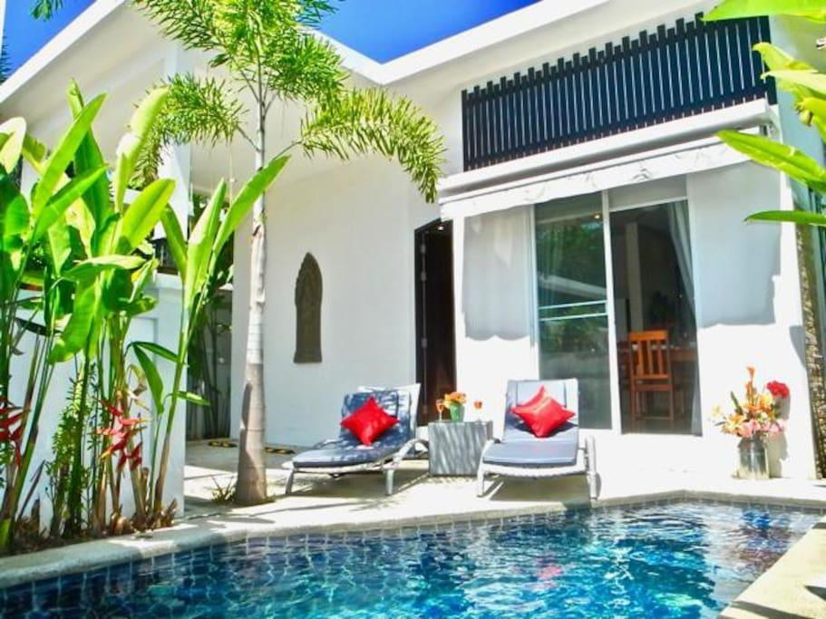 1 Bedroom Pool Villa in Rawai
