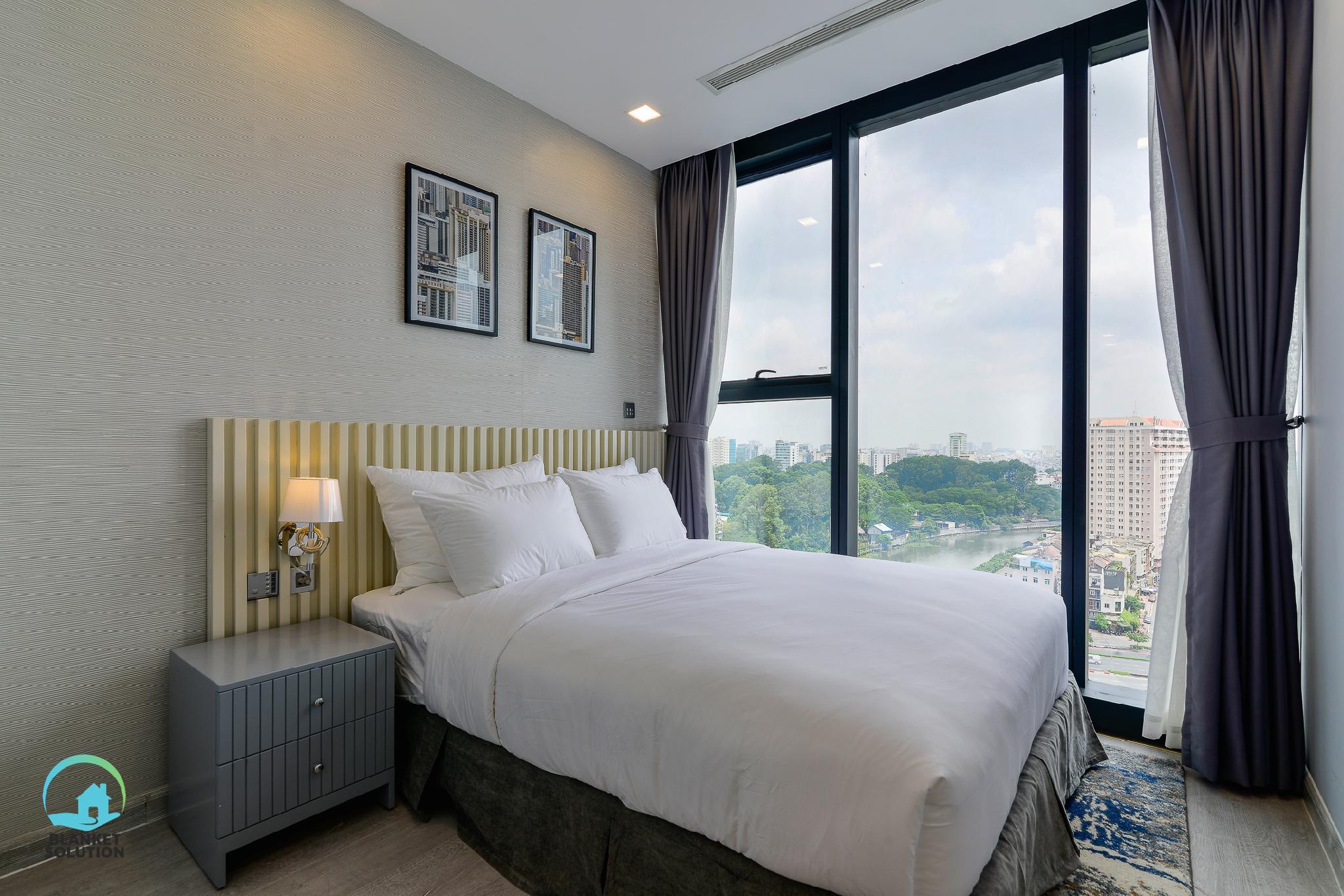 Saigon RiverandZoo View Spacious 3BR New Apt @D1
