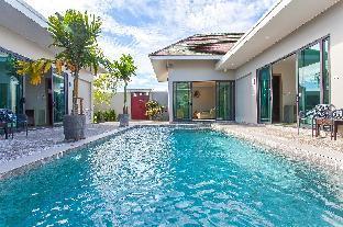 ⭐Modern Getaway Villa 4 BR Sleeps 8 w/Private Pool วิลลา 4 ห้องนอน 4 ห้องน้ำส่วนตัว ขนาด 8000 ตร.ม. – บางเทา