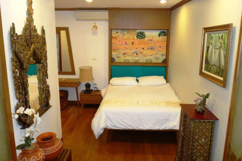 Beautiful Thai-Inspired design condo อพาร์ตเมนต์ 2 ห้องนอน 2 ห้องน้ำส่วนตัว ขนาด 48 ตร.ม. – หาดดงตาล