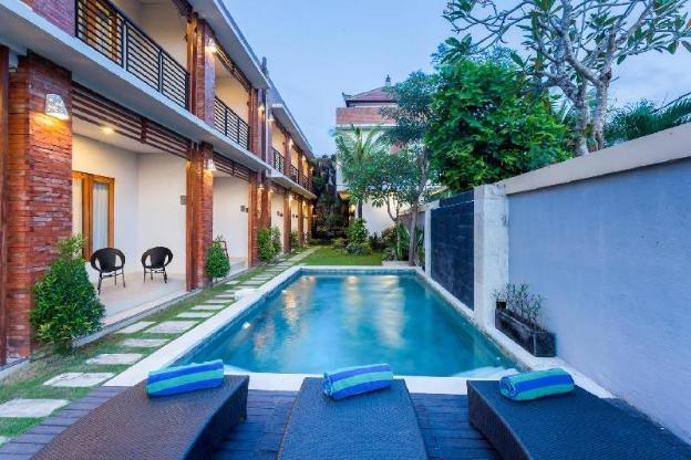Rice Field View Superior At Kubu Bali Suite