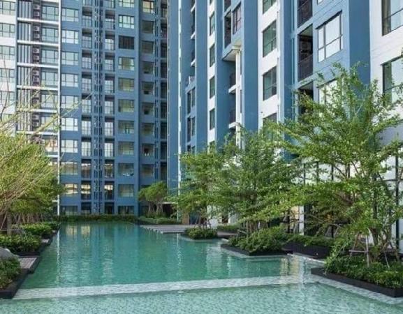 The Base Rama 9 - modern 1 BR condo Bangkok