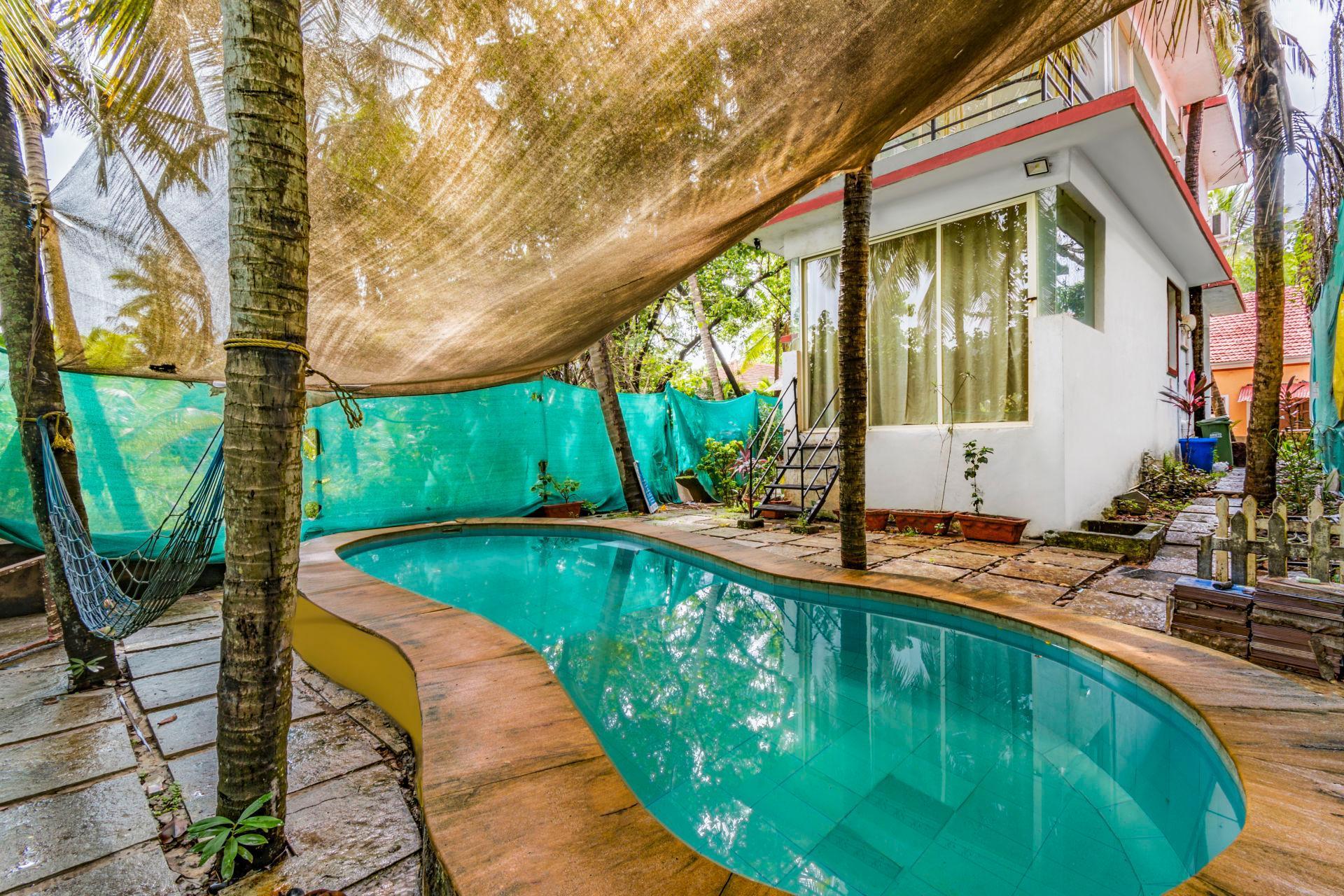 Quiet Pool Villa Amidst Greenery 74162