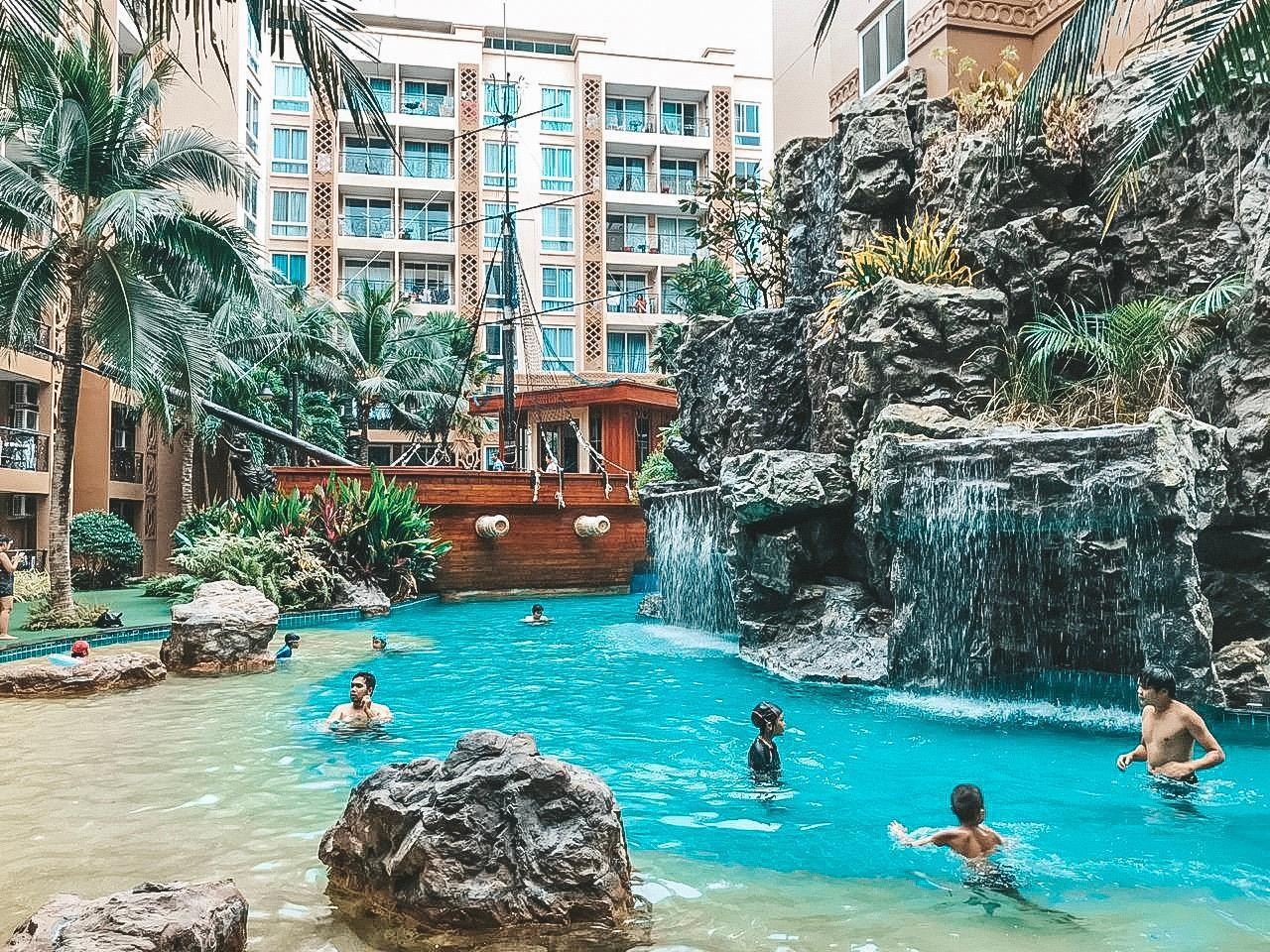 Atlantis Condo Resort E8 อพาร์ตเมนต์ 1 ห้องนอน 1 ห้องน้ำส่วนตัว ขนาด 38 ตร.ม. – หาดจอมเทียน