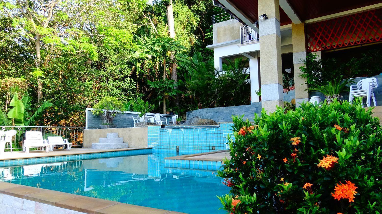 4 bedroom apartment  with sea view & private pool อพาร์ตเมนต์ 4 ห้องนอน 2 ห้องน้ำส่วนตัว ขนาด 210 ตร.ม. – กะรน