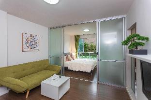 [カトゥー]アパートメント(30m2)  1ベッドルーム/1バスルーム 100m Pool, Private internet, Easy 2Patong