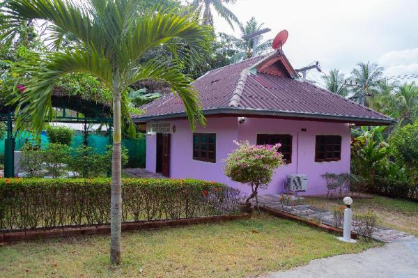 King, Parking, AC, Big Garden, Full Kitchen, Enjoy Koh Phangan