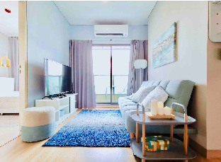 [スクンビット]アパートメント(46m2)| 2ベッドルーム/1バスルーム Elegant 2 bdrm, city center Near to NANA and Asok