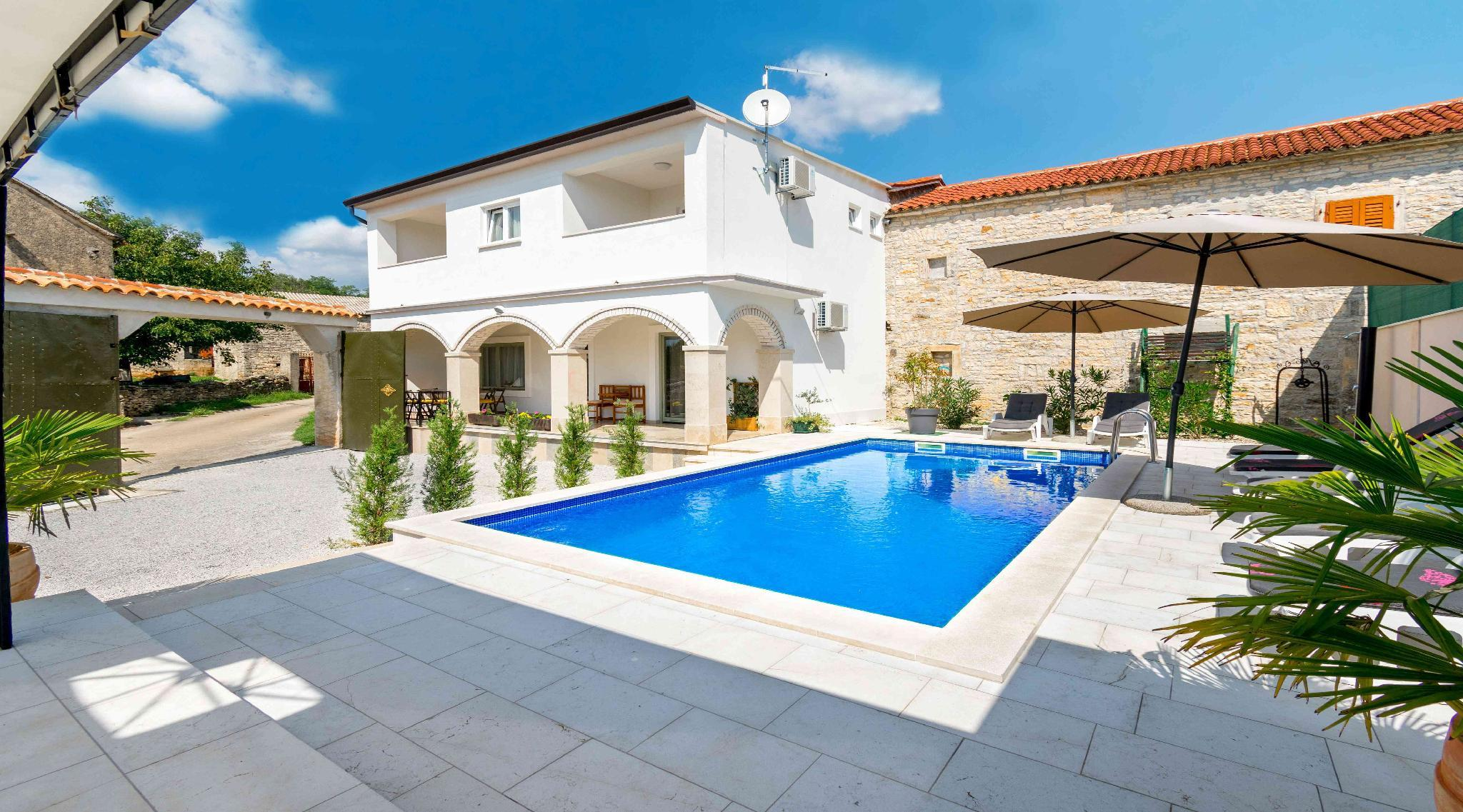 Villa Martin With Traditional Istrian Touch