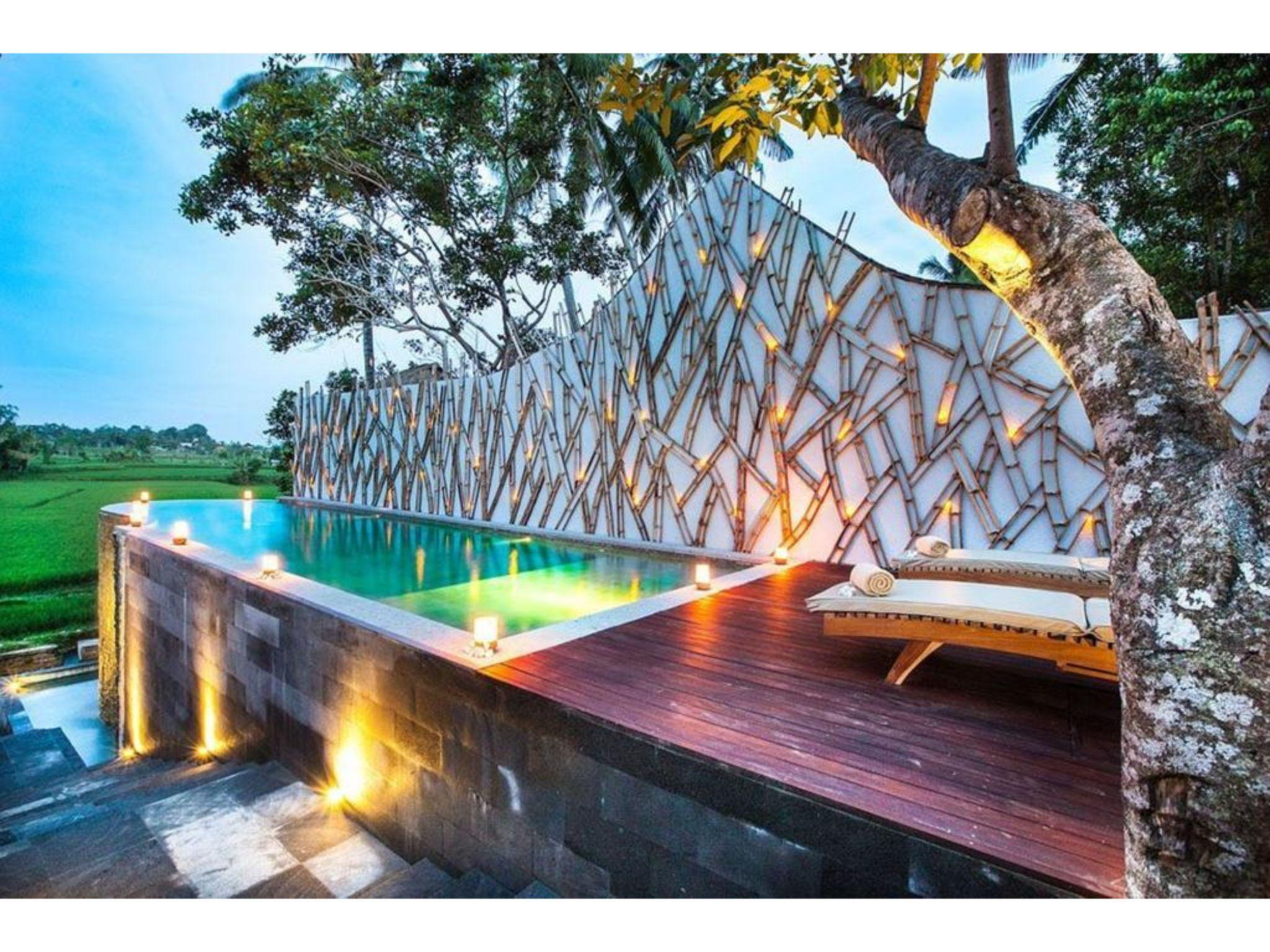 Padi Villa Honeymoon Private Pool Rice Field View