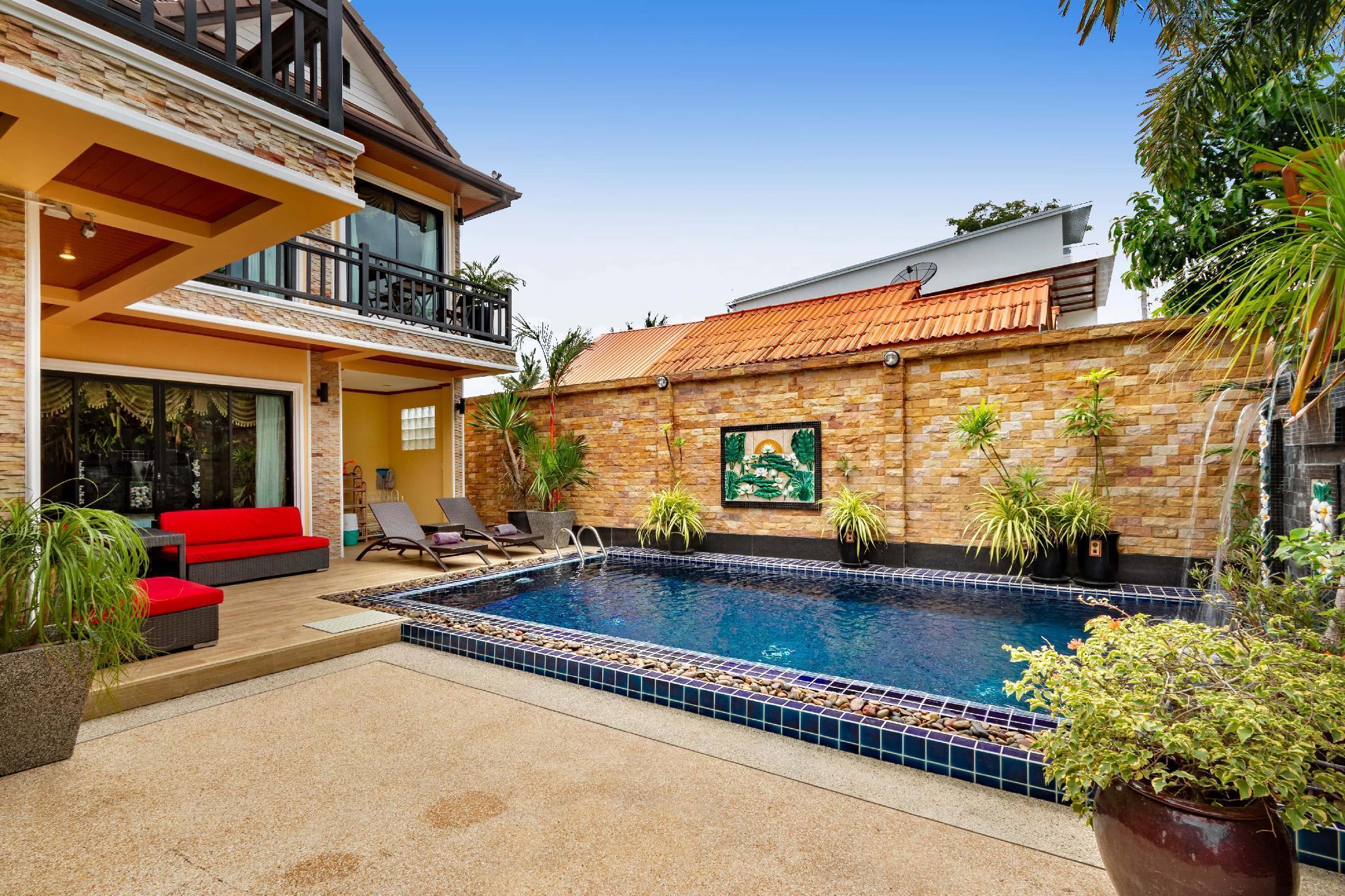 Lux villa near BangTao beach with private pool วิลลา 3 ห้องนอน 3 ห้องน้ำส่วนตัว ขนาด 250 ตร.ม. – บางเทา