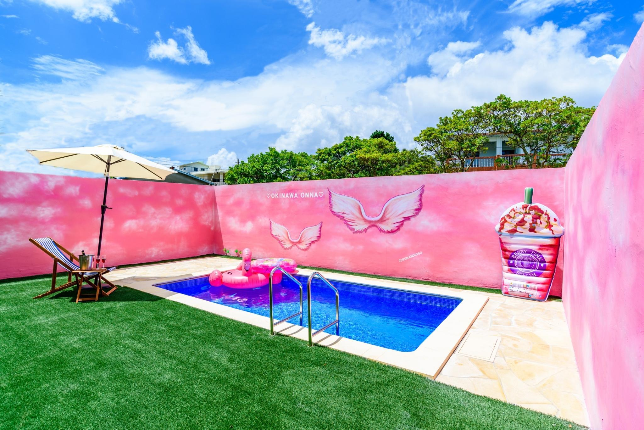 91 Private Pool Art Wall 3BR  Baby Max14ppl B