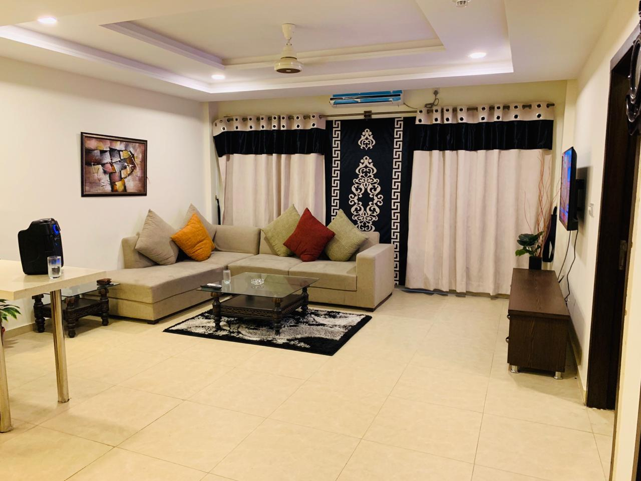 Single Bed Furnished Private Apartment Islamabad