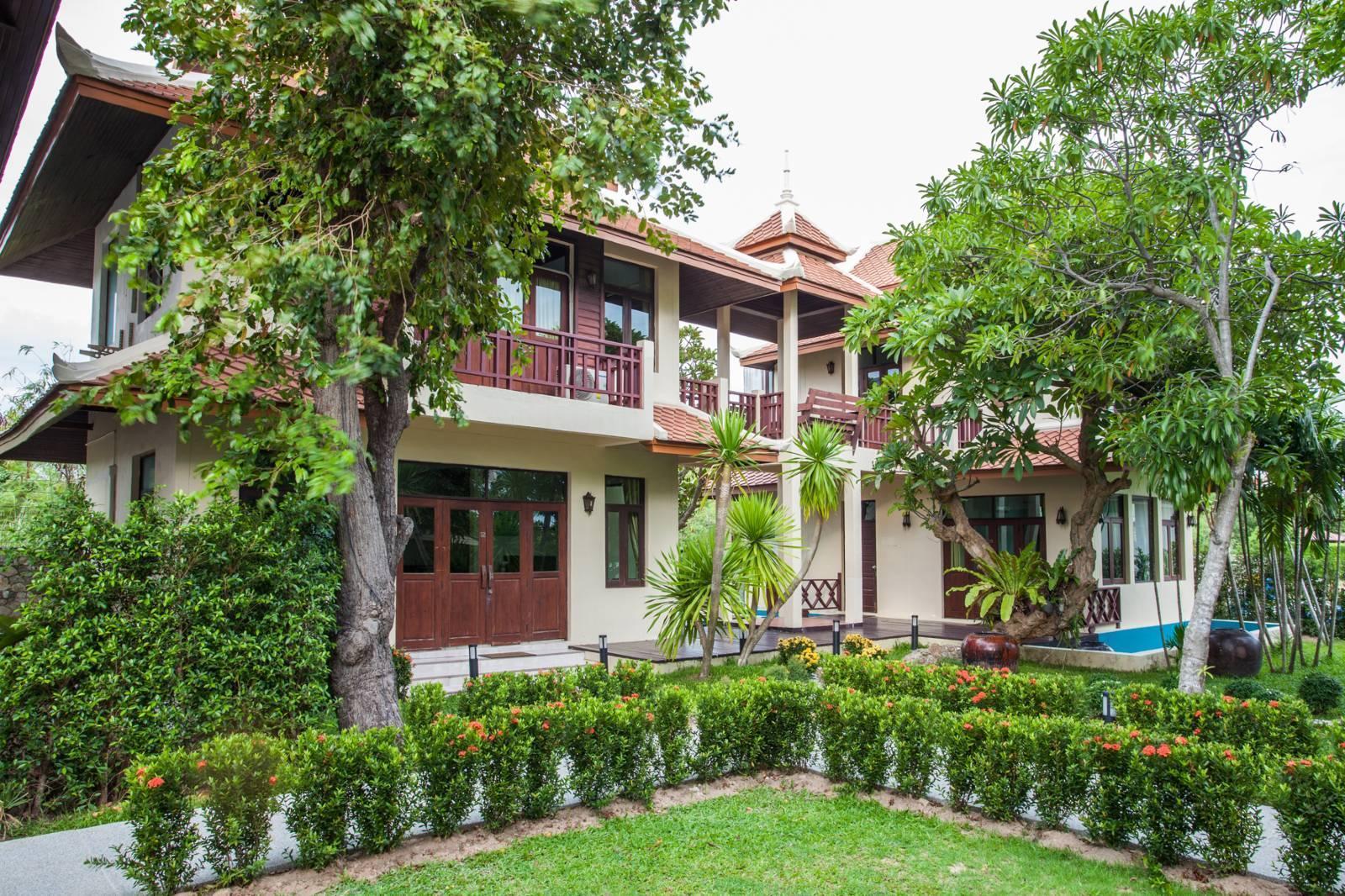 Jomtien Achawalai Holiday villa ( 5 room) วิลลา 5 ห้องนอน 3 ห้องน้ำส่วนตัว ขนาด 360 ตร.ม. – หาดจอมเทียน