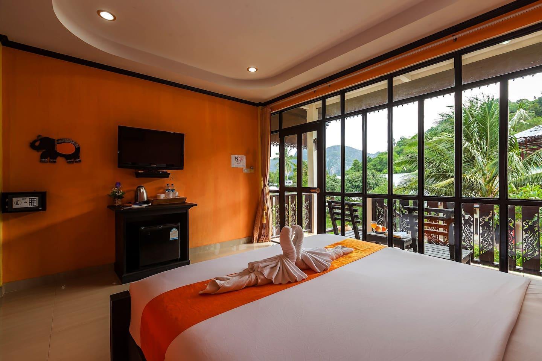 Beautiful Greenery Villa on Phi Phi สตูดิโอ วิลลา 1 ห้องน้ำส่วนตัว ขนาด 25 ตร.ม. – อ่าวโละดาลัม