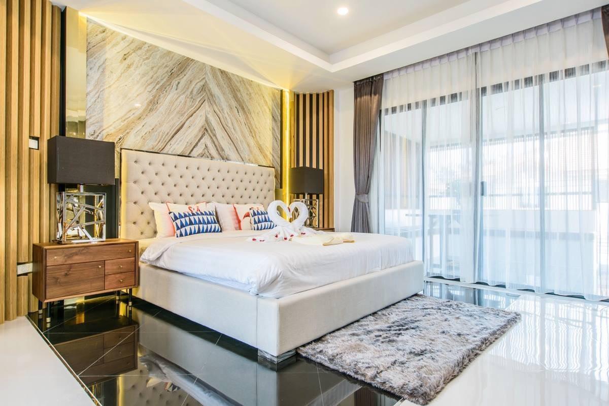 Pool Villa Pattaya w/ sauna-Exquisite Pool Villa B วิลลา 3 ห้องนอน 3 ห้องน้ำส่วนตัว ขนาด 110 ตร.ม. – พัทยากลาง