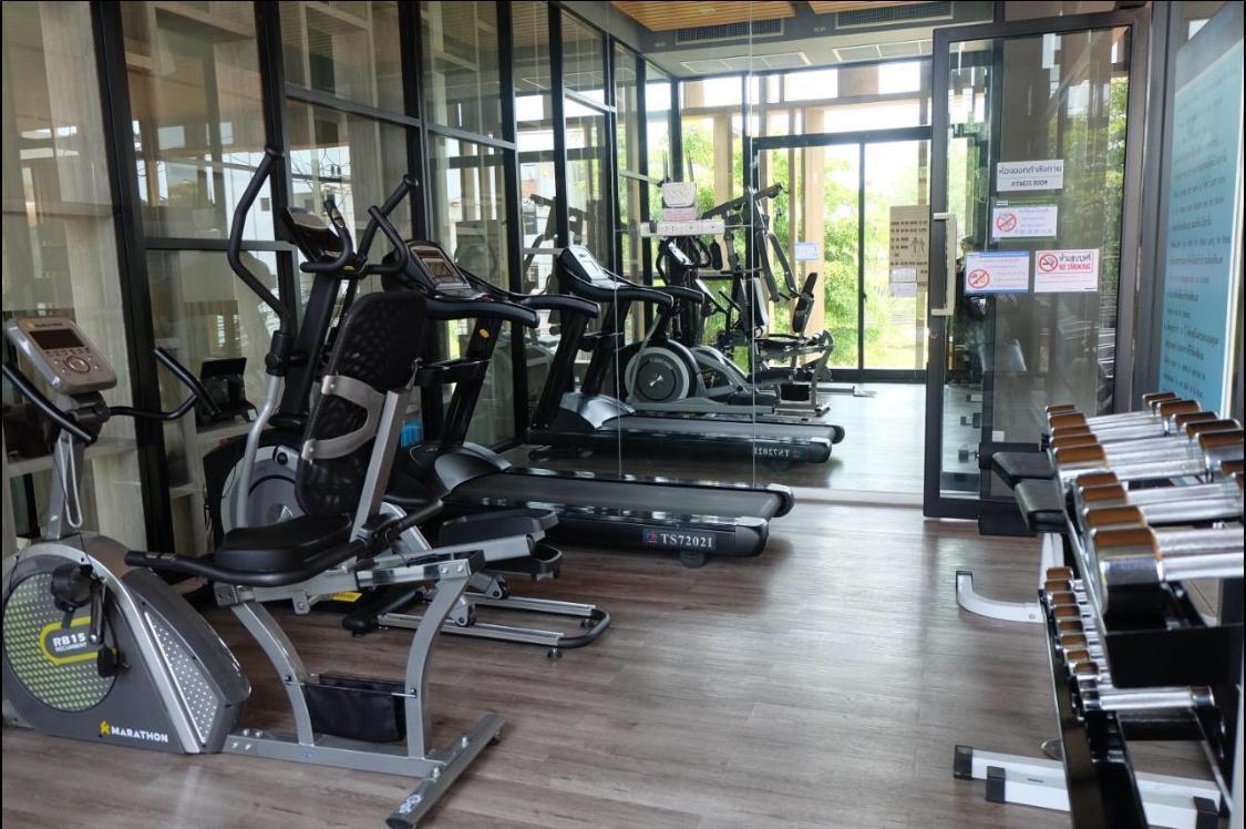 Modern, comfy unit in the heart of Chiang Mai อพาร์ตเมนต์ 1 ห้องนอน 1 ห้องน้ำส่วนตัว ขนาด 36 ตร.ม. – นิมมานเหมินทร์