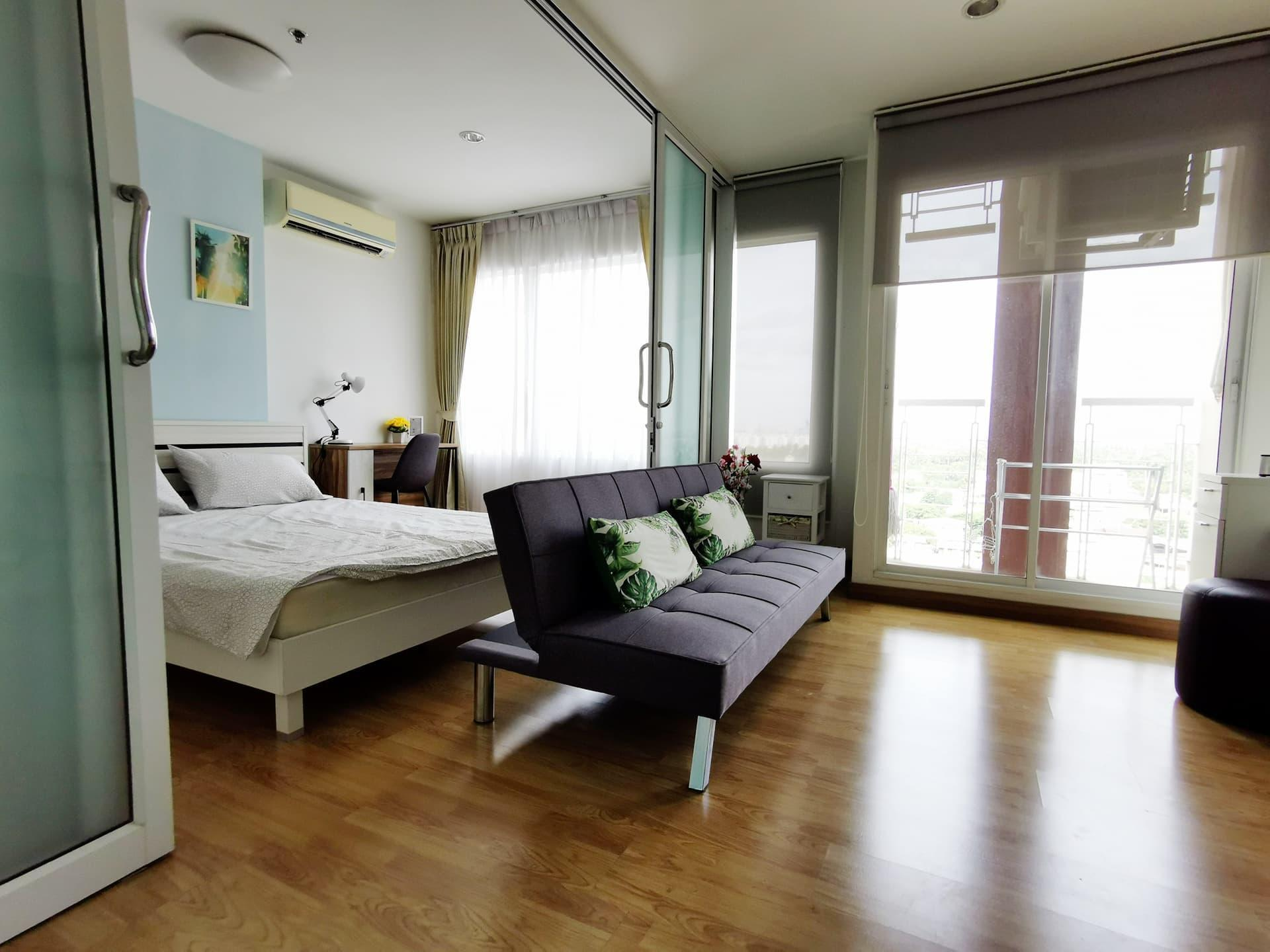 Cozy room + Local Life Style อพาร์ตเมนต์ 1 ห้องนอน 1 ห้องน้ำส่วนตัว ขนาด 30 ตร.ม. – ธนบุรีตอนใต้
