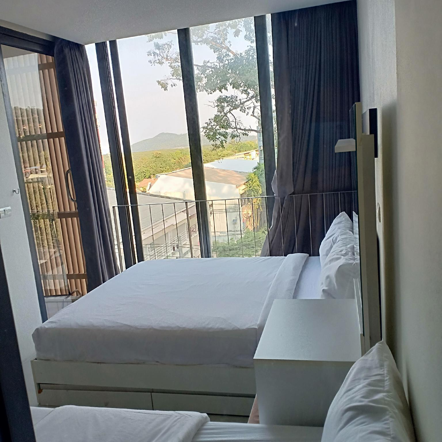 Mountain view Condo in Phuket 4 mins to old town อพาร์ตเมนต์ 1 ห้องนอน 1 ห้องน้ำส่วนตัว ขนาด 32 ตร.ม. – ตัวเมืองภูเก็ต