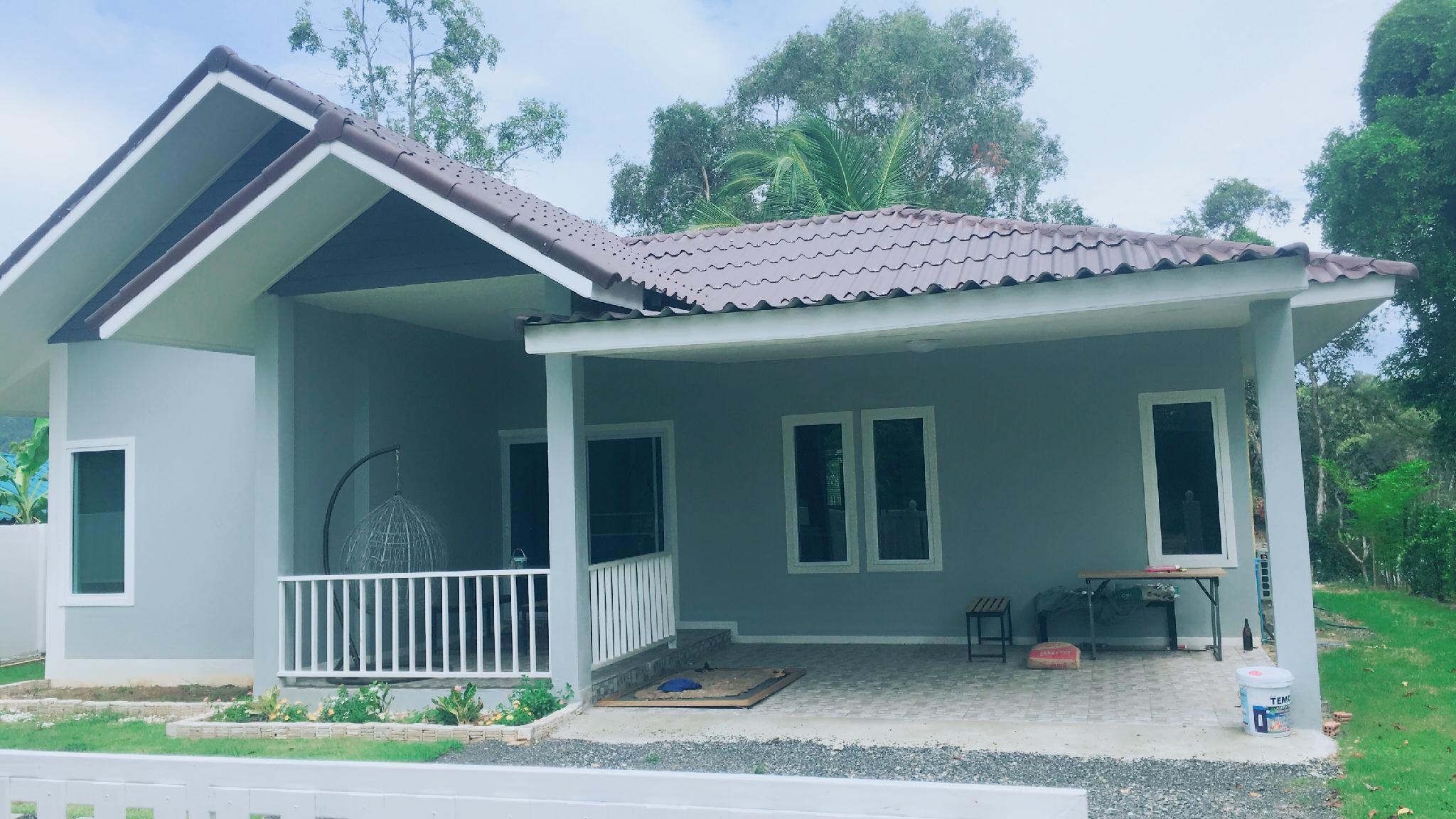 Song khaw villa วิลลา 3 ห้องนอน 2 ห้องน้ำส่วนตัว ขนาด 107 ตร.ม. – หน้าทอน