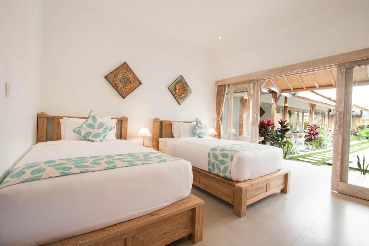 Peaceful House TWN Bed With Pool Incl BF In Canggu
