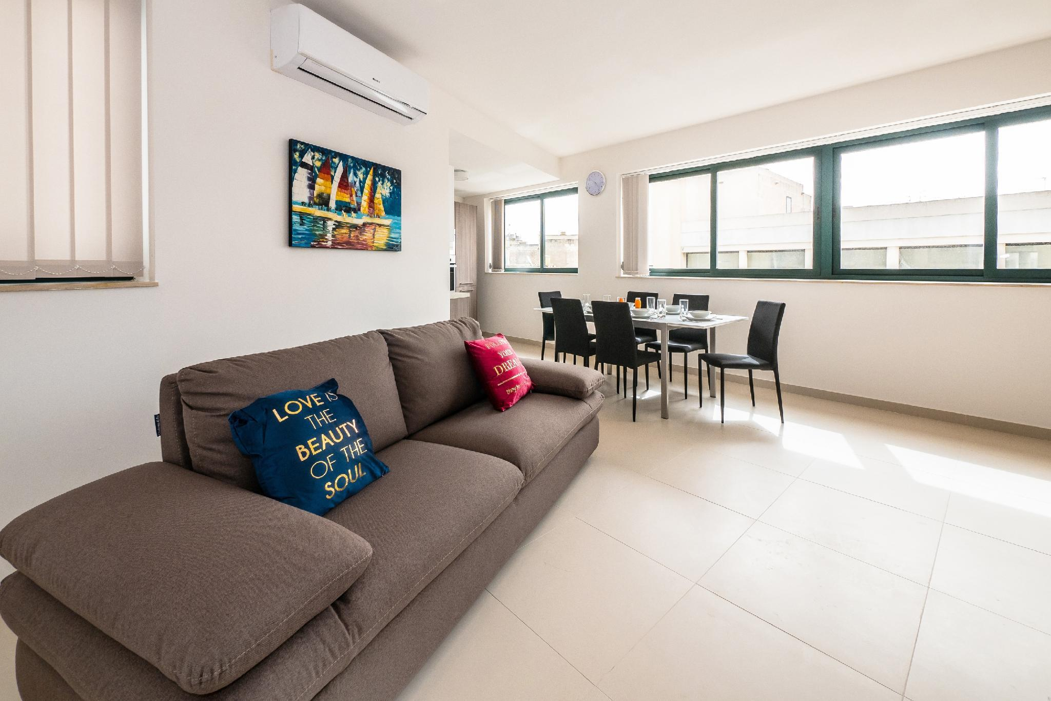 New And Modern 3 Bedroom Apartment   Near Sea
