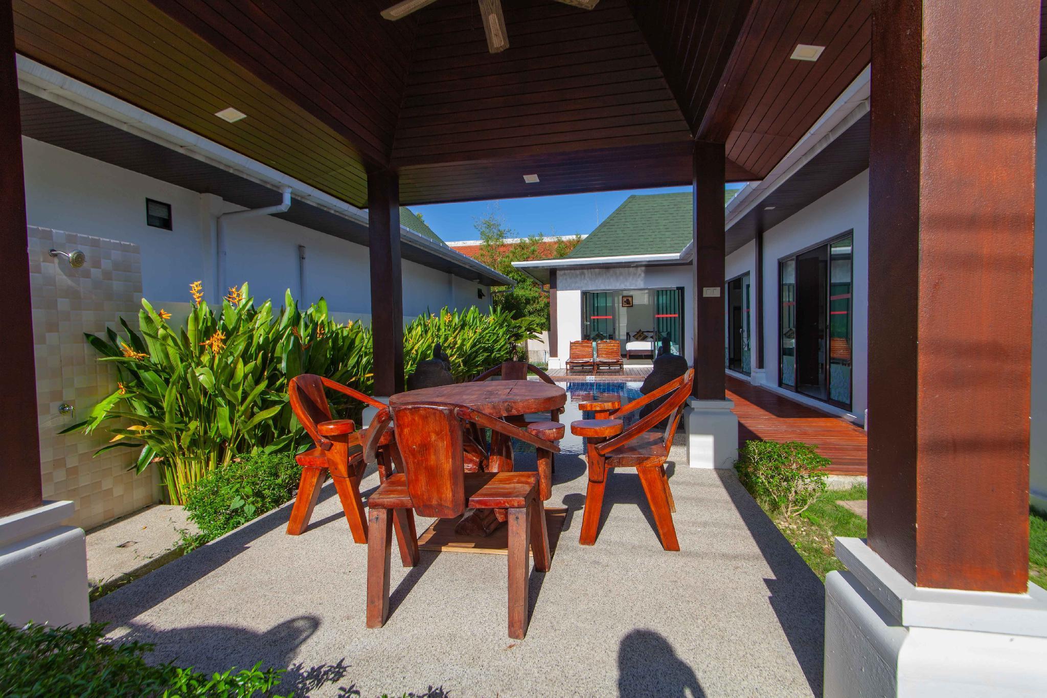 Phuket Beautiful Pool Villa In Rawai