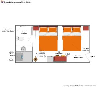 1R2B0S/F301 Suwatchai garden,Service Apartment Samut Prakan Samut Prakan Thailand