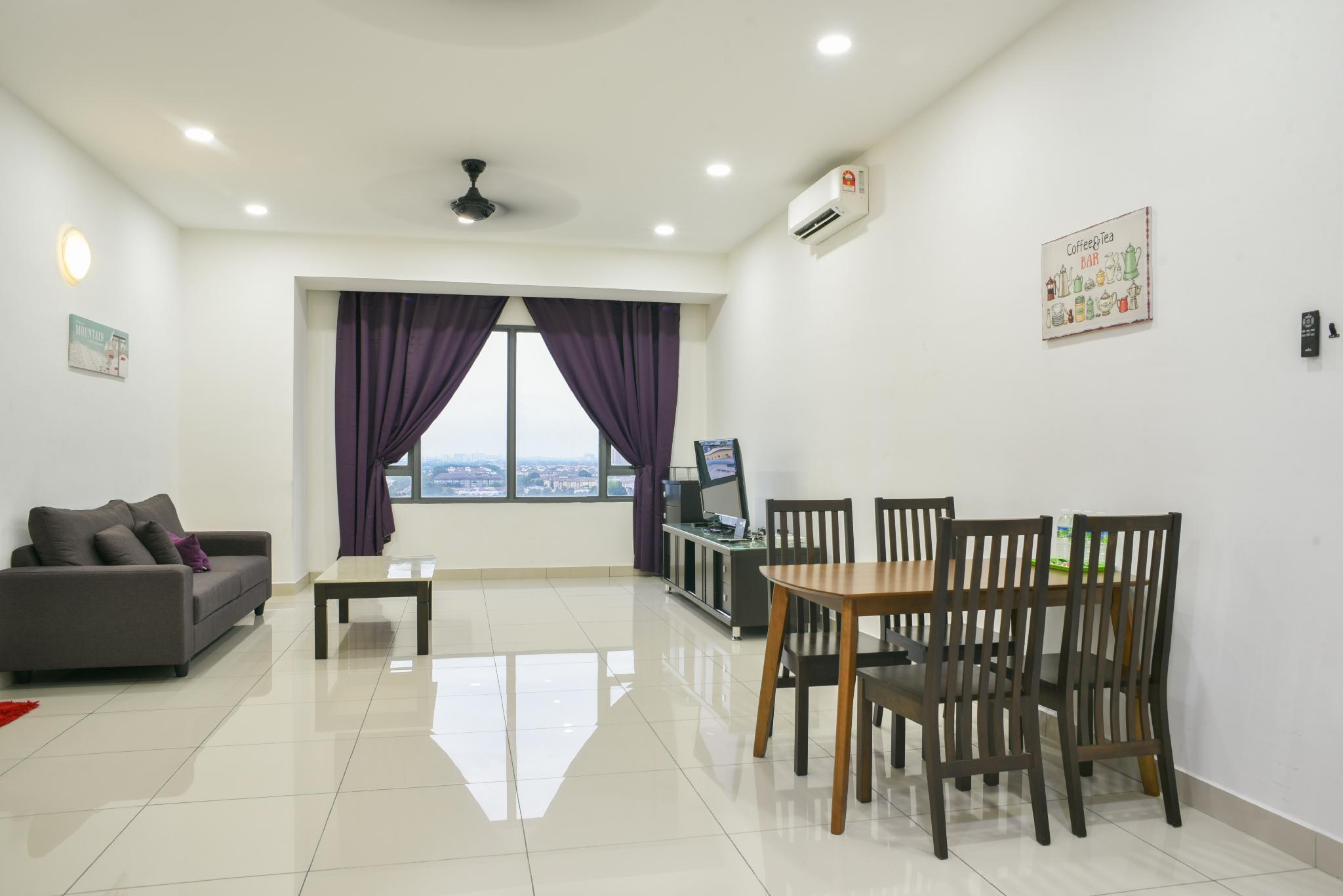 DaMen HomeStay @SubangJaya USJ 1 Sunway B12*2 4PAX