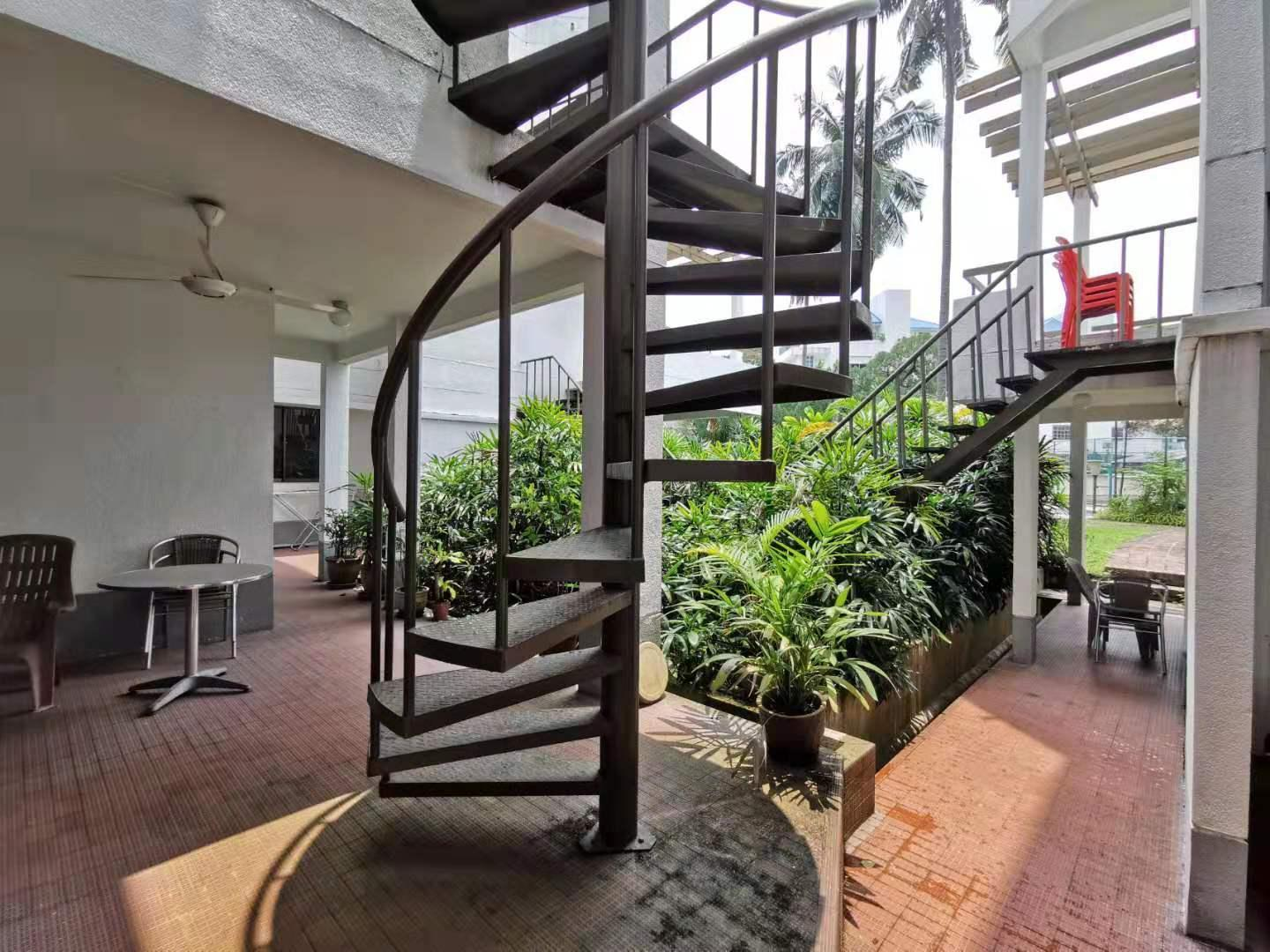 Vintage Garden 2.5km To KLCC  1 Bed With Tub  BBQ