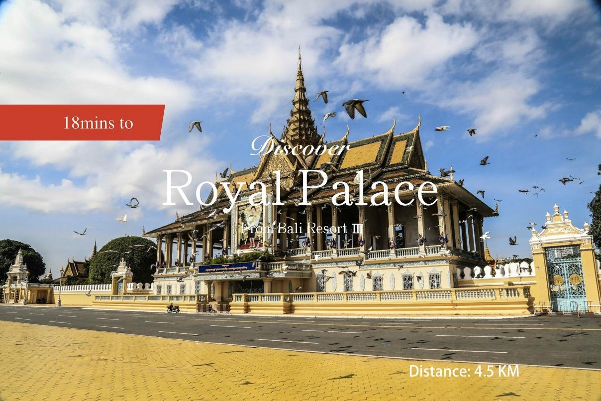 17A3 Great CityView Royal Palace Central Market