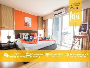 [スクンビット]アパートメント(60m2)| 1ベッドルーム/1バスルーム [hiii]Chambre de brume/Gym&Pool/BTSThongLo-BKK164