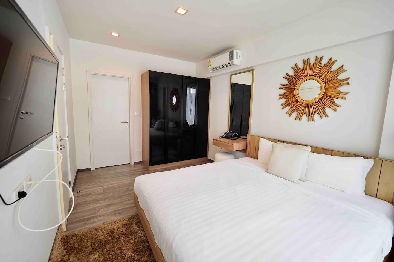 Two Bedrooms & roof top pool at Patong Beach #D74 อพาร์ตเมนต์ 2 ห้องนอน 2 ห้องน้ำส่วนตัว ขนาด 30 ตร.ม. – ป่าตอง